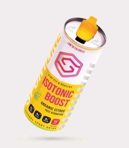 Isotonic sportdrankje, handig tijdens het hardlopen