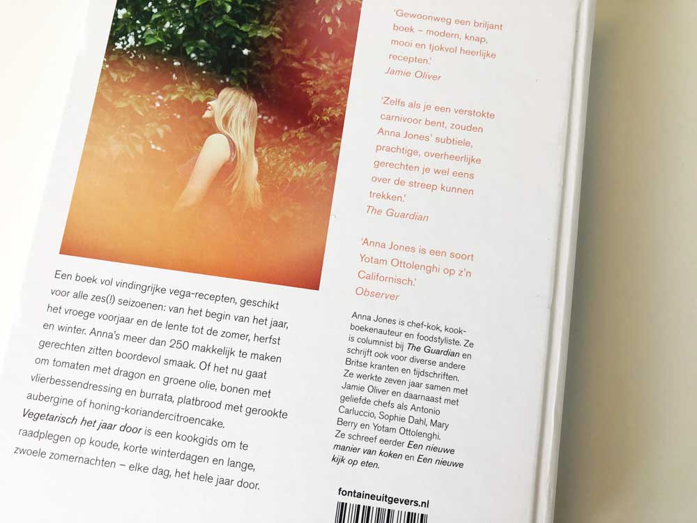 Kookboek Anna Jones, Vegetarisch het jaar door