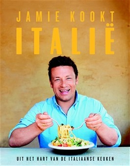 Nieuwste boek van Jamie Oliver, met oa een recept voor nutella