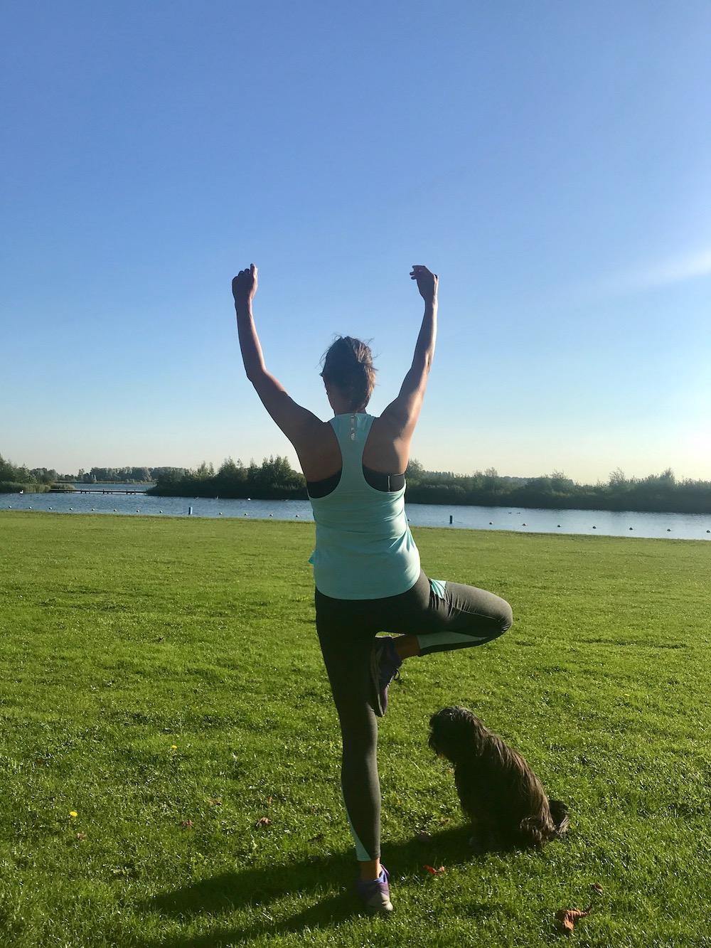 Eenvoudige balansoefeningen vanuit de yoga