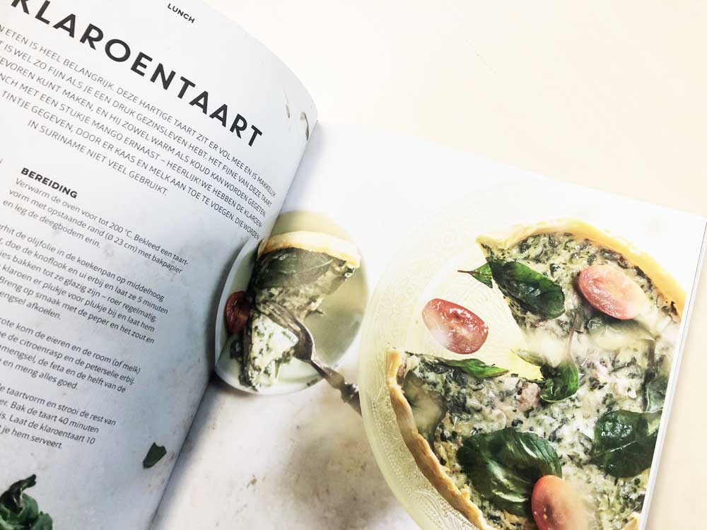 Nieuwe Surinaams kookboek