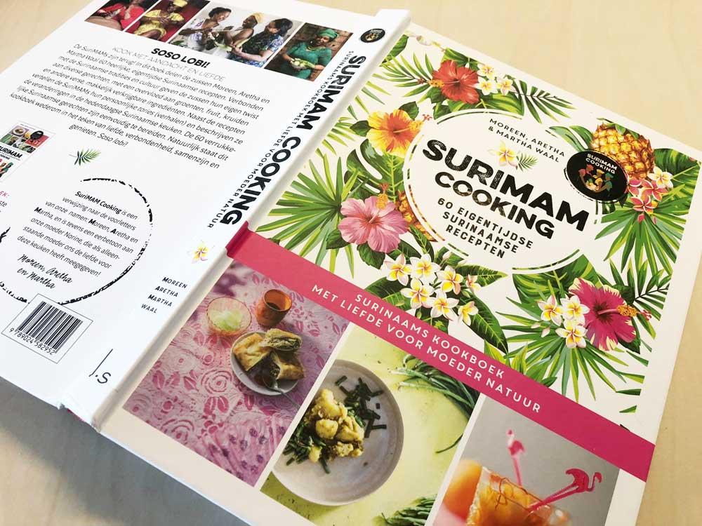Nieuw kookboek met heerlijke eigentijdse Surinaamse recepten