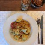 Makkelijke pittige Thaise curry met kikkererwten