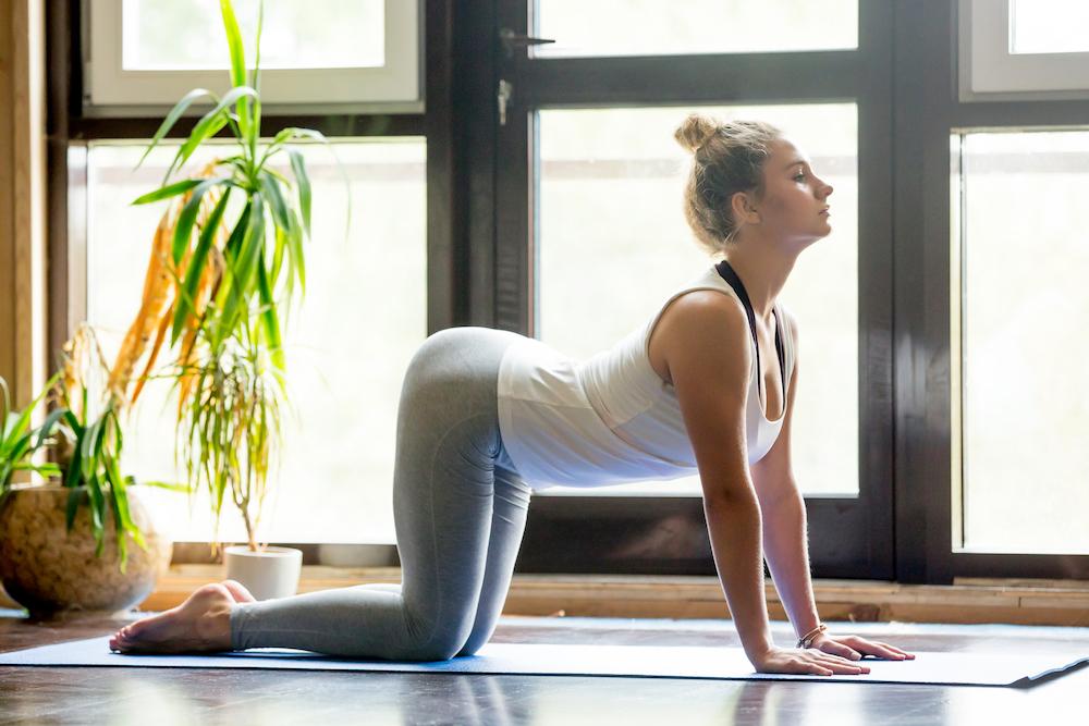 Goede yoga oefening voor je spijsvertering