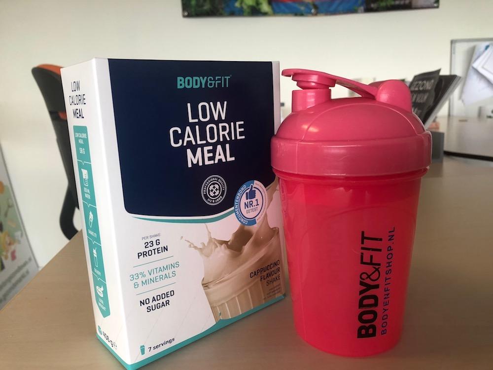 Ervaring Body & Fit Shop maaltijdshake - Low Calorie Meal Cappuccino