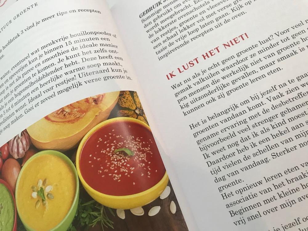 Nieuw groentekookboek van Monique van der Vloed
