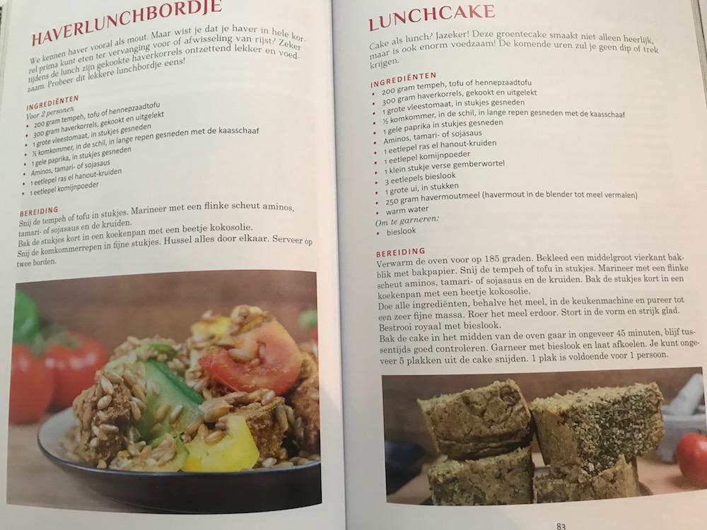 Kookboek met groenterecepten