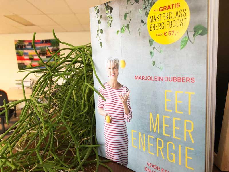 Boek Eet Meer Energie van Marjolein Dubbers
