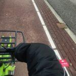 Heerlijke warme handen op de fiets