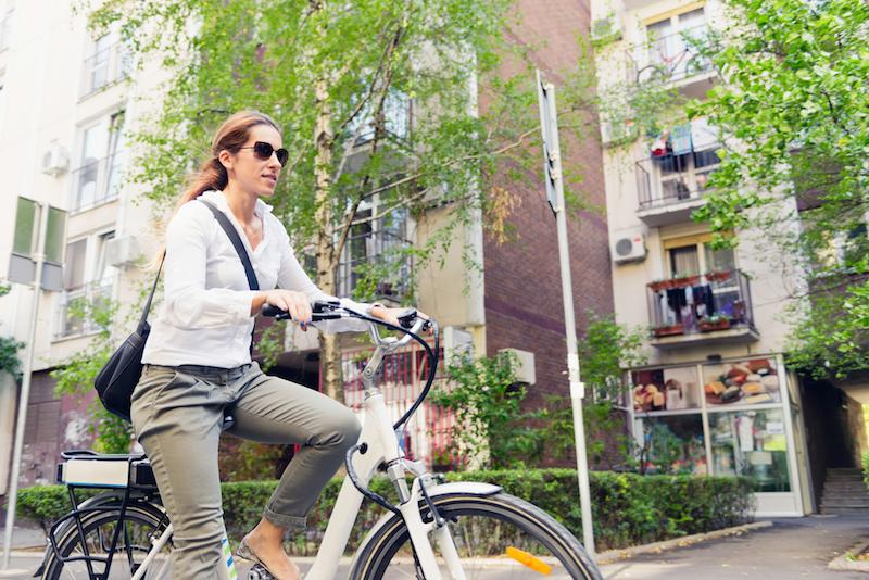 Conditie op peil houden met een e-bike