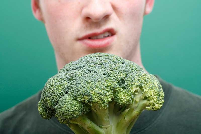 Afkeer van groente, waar kun je last van krijgen als je te weinig groente eet?