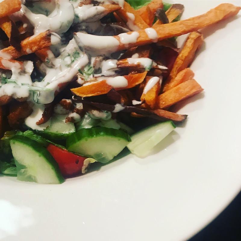 Lekker groente eten met een gezonde kapsalon