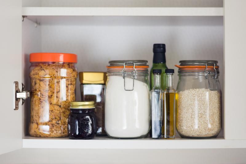 Ideale voorraadkast - boodschappenlijstje gezond eten