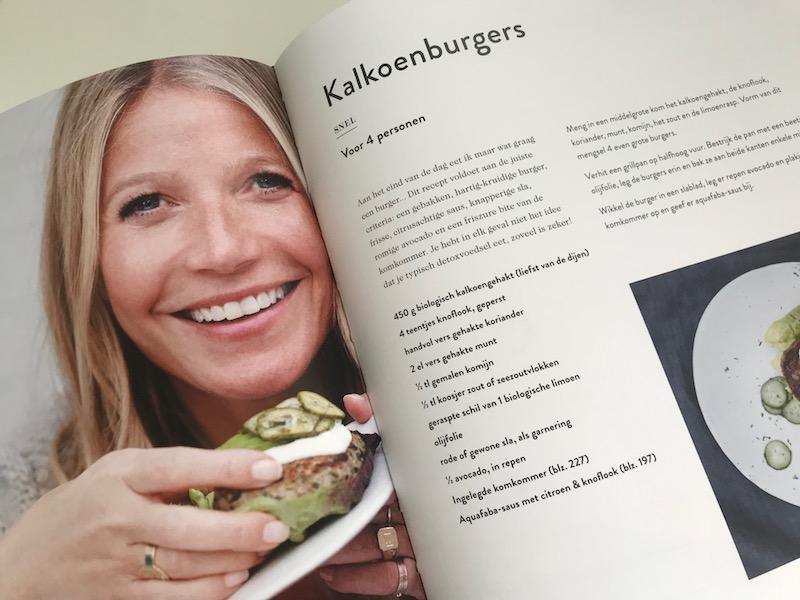 nieuwste boek Gwyneth Paltrow over clean eating