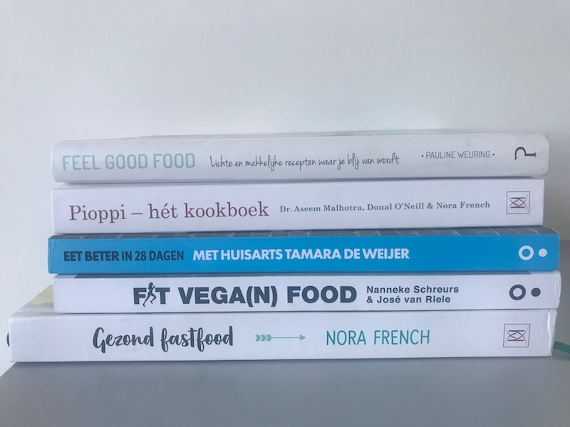 Kookboeken, helpen want gezond eten begint met goed plannen!