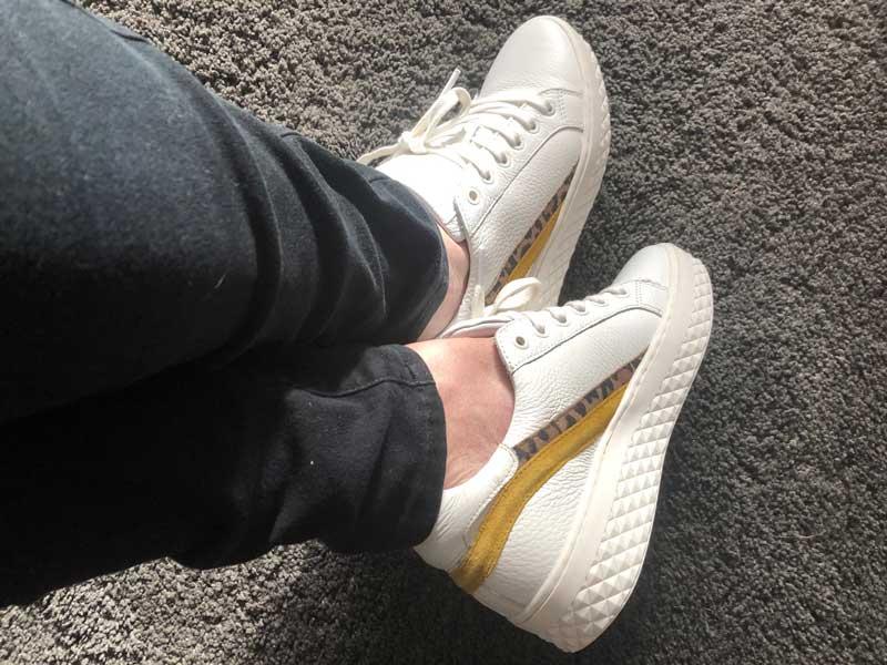 Nieuwe sneakers van Sacha