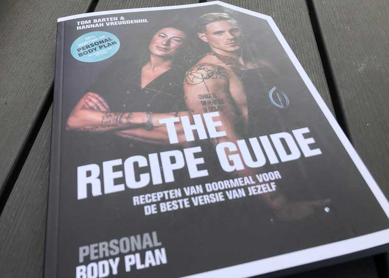 The Recipe Guide, kookboek vol stoere, gezonde recepten, zoals hamburgers