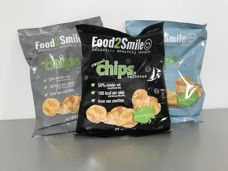 Food2Smile gezonde chips kopen - suikervrij - glutenvrij - gezond en lekker