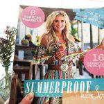Nieuwste boek Sonja Bakker met weekmenu's en recepten, Summerproof