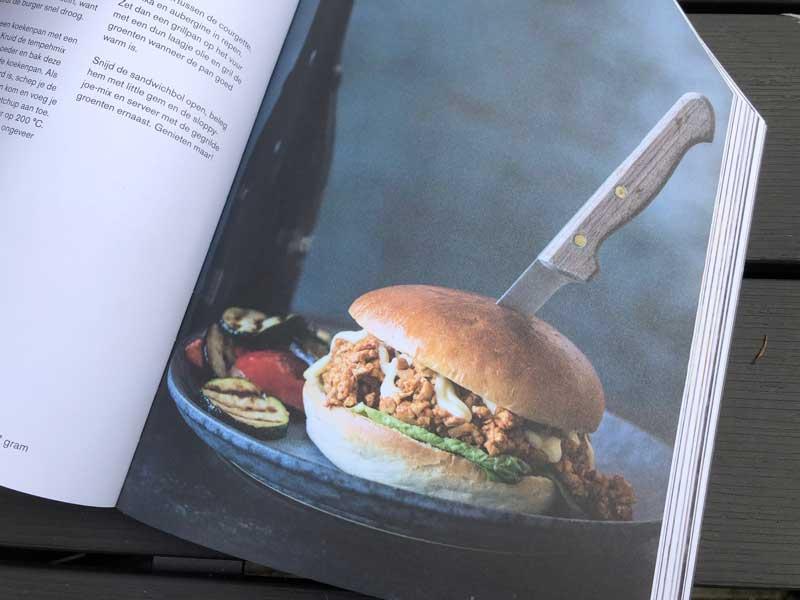 Kookboek gezonde hamburgers, afvallen