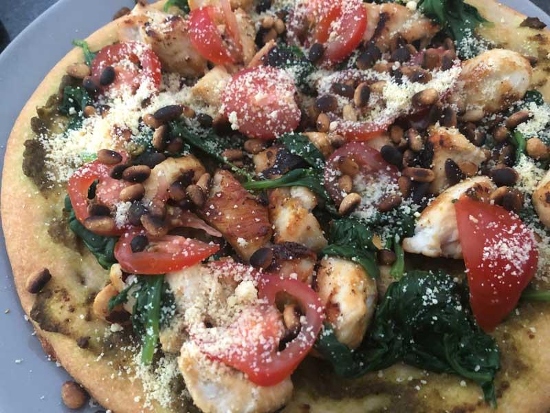 Recept voor een gezonde pizza