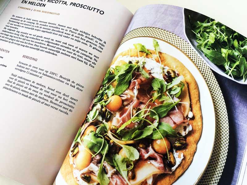 Kookboek met gezonde pizzarecepten
