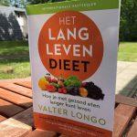 Boek over Het Lang Leven Dieet van dr. Valter Longo