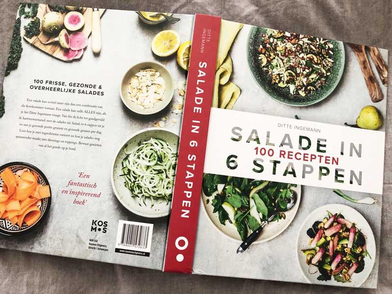 Kookboek met gezonde salades