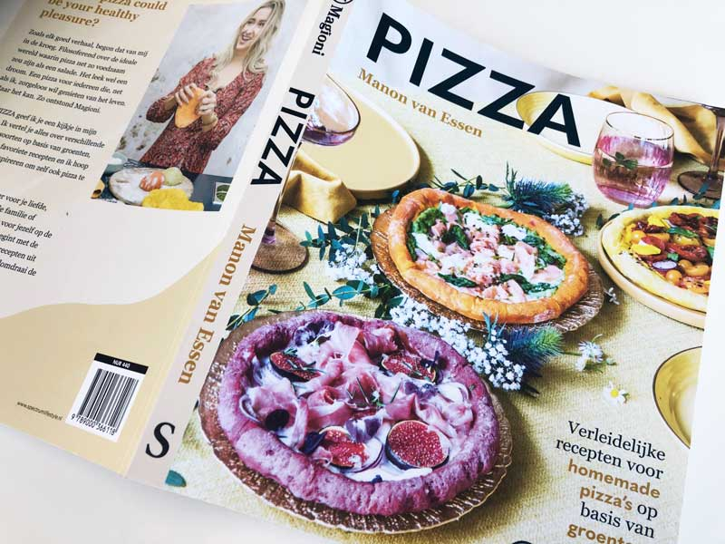 Kookboek pizza's Magioni