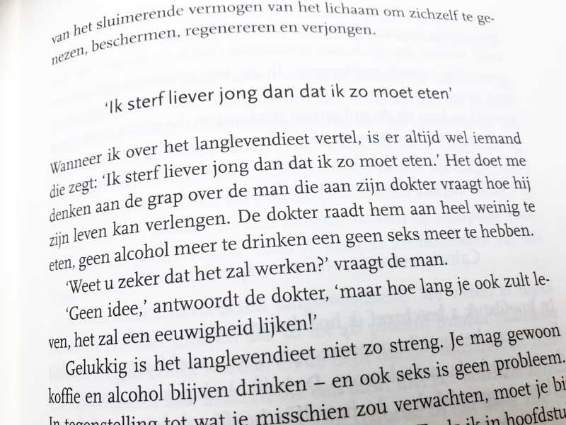Tips uit het boek van dr. Valter Longo