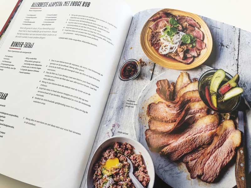 Origneel kookboek met koolhydraatarme recepten