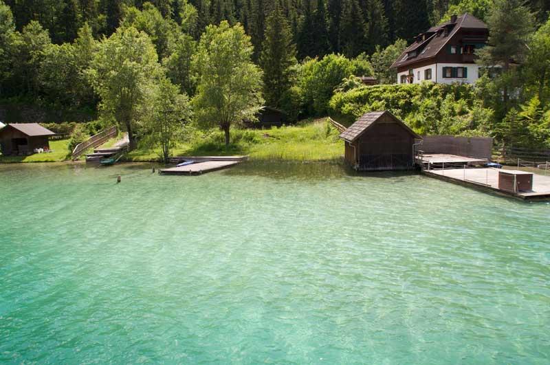Bijzondere meren in Karinthië, leuk tijdens een wandelakantie in Oostenrijk.