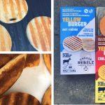 Nieuwe lekkere vega kaasburgers, zonder gepaneerde korst