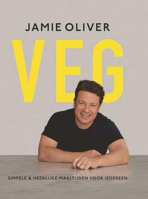 Nieuwste kookboek van Jamie Oliver, VEG.