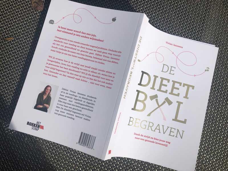 De Dieetbijl Begraven, boek van diëtiste Vivan Janssens