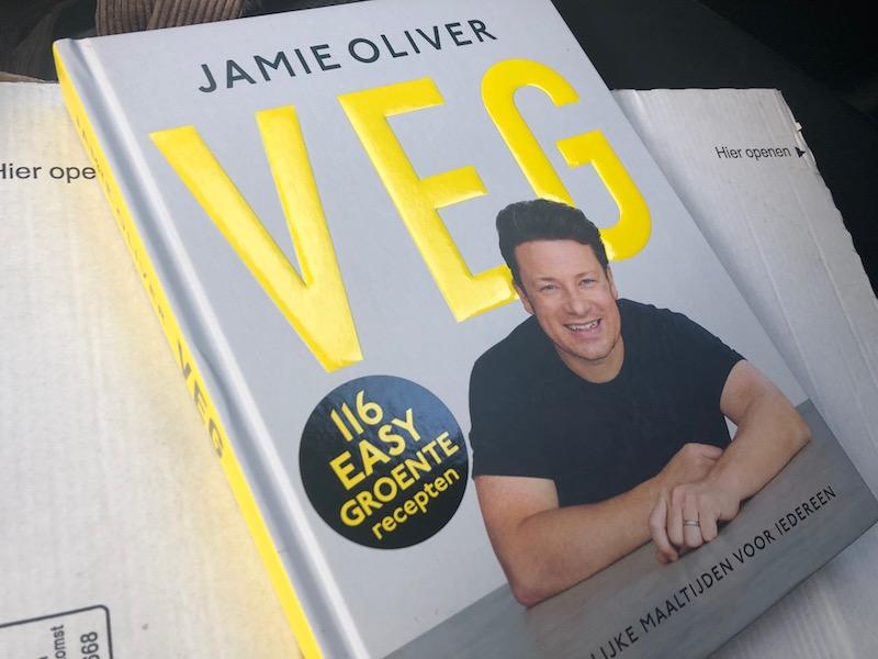 Nieuw vegetarisch kookboek Veg van Jamie Oliver - vegetarische recepten
