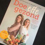 Boekreview Doe Effe Gezond, boek over afvallen en een gezond eetpatroon