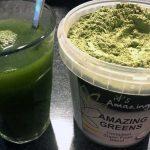 Groene poeder van Amazing Greens gezond?
