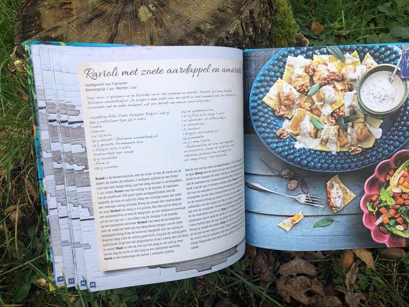 Recept ravioli met zoete aardappel