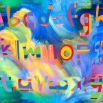 Kleuren zien bij woorden, synesthesie