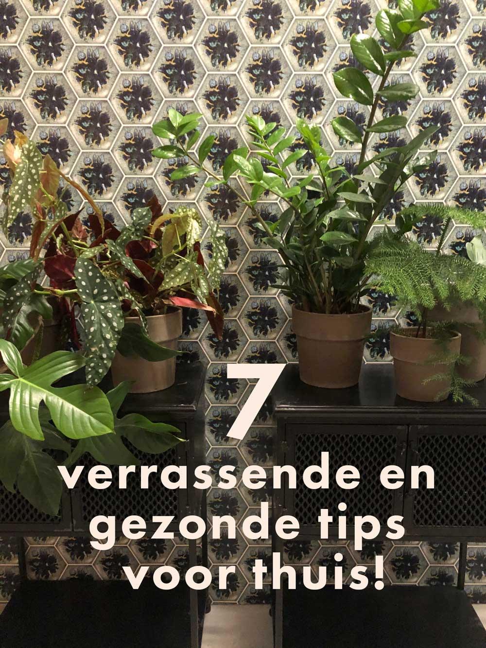 7 Verrassende en gezonde tips voor thuis