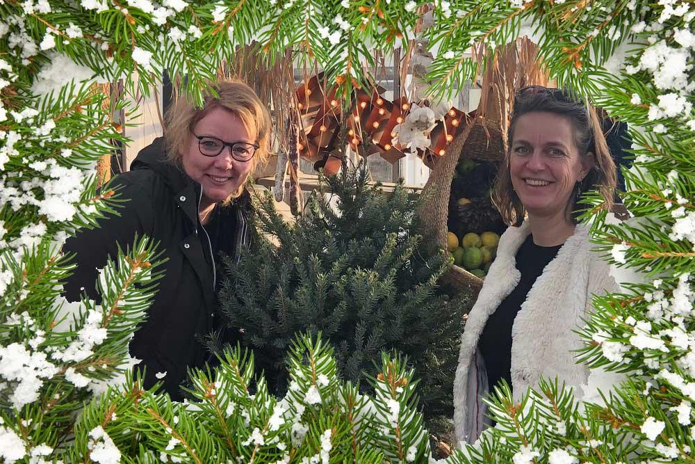 Kerstwensen van Vanessa en Jenny, Goed eten Gezond leven
