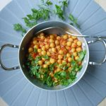 Recept Chana Masala, met kikkererwten, een echte opkikker!