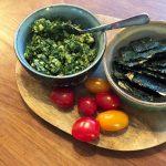 Recept om pesto te maken