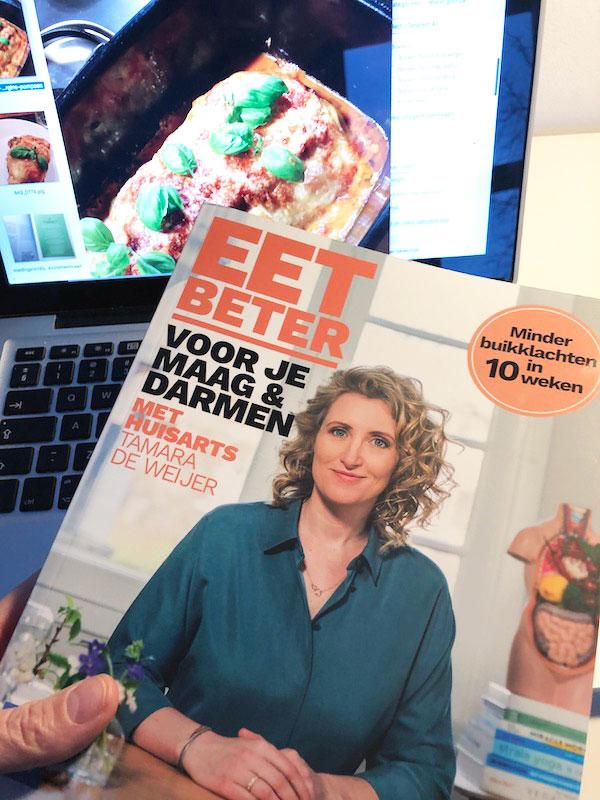 Nieuwste boek van huisarts Tamara de Weijer, Eet Beter, over darmklachten en buikproblemen
