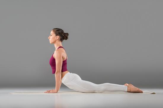De Cobra, goede oefening voor je rugspieren