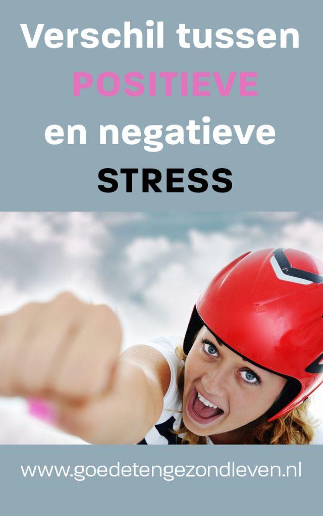 Positieve of negatieve stress?