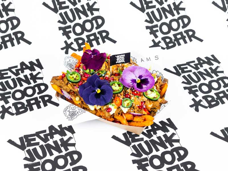 Vegan Junk Food Bar Amsterdam en Rotterdam