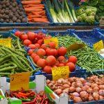 Groenten en fruit met veel vitamine C