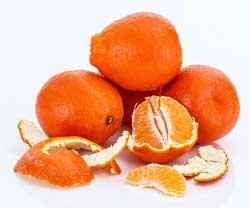 Oranje voeding, mandarijnen!